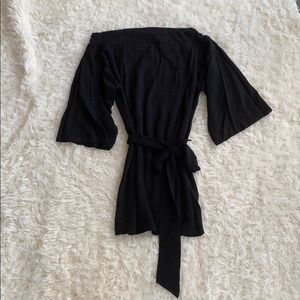 WHBM Boatneck Belted Tunic Size M